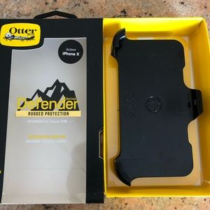 OtterBox Defender iPhone X Belt Clip/Holster